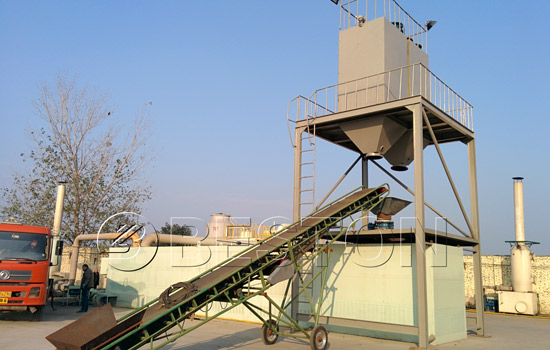 Beston plastic pyrolysis plant for sale