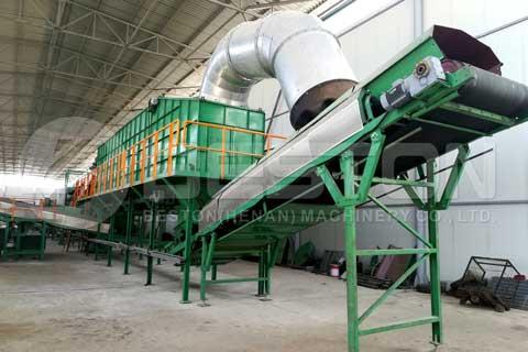 planta de separacion de residuos