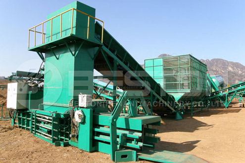 Beston Municipal Solid Waste Sorting Machine for Sale